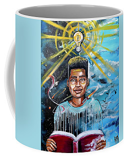 Drenched In Knowledge Coffee Mug