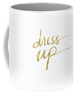 Dress Up Gold- Art By Linda Woods Coffee Mug