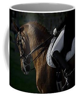 Dressage Coffee Mug by Wes and Dotty Weber