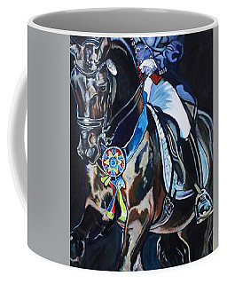 Dressage Stallion Coffee Mug
