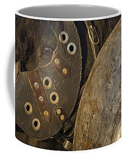 Coffee Mug featuring the photograph Dressed For Battle D6722 by Wes and Dotty Weber