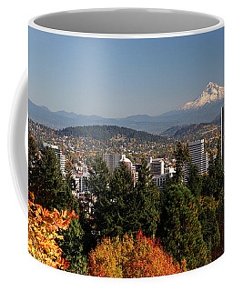 Dressed In Fall Colors Coffee Mug by Wes and Dotty Weber