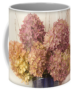 Dried Hydrangea Coffee Mug