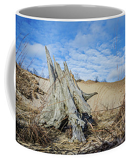 Dried Stump At Warren Dunes Coffee Mug