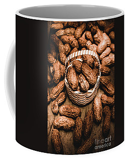 Dried Whole Peanuts In Their Seedpods Coffee Mug