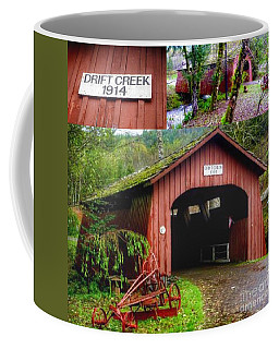 Drift Creek Covered Bridge Coffee Mug