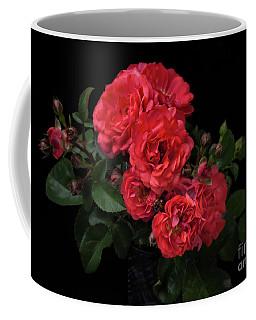 Coffee Mug featuring the photograph Drift Roses by Ann Jacobson