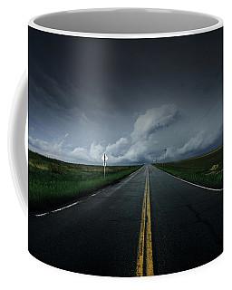 Drifting Left Of Center Coffee Mug