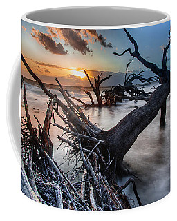 Driftwood Beach 6 Coffee Mug