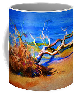 Driftwood Coffee Mug by Ludwig Keck