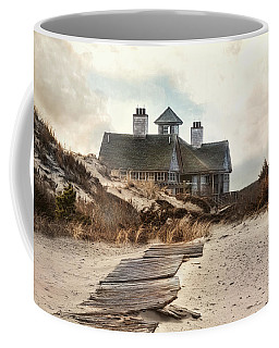 Coffee Mug featuring the photograph Driftwood by Robin-Lee Vieira