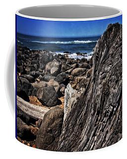 Driftwood Rocks Water Coffee Mug