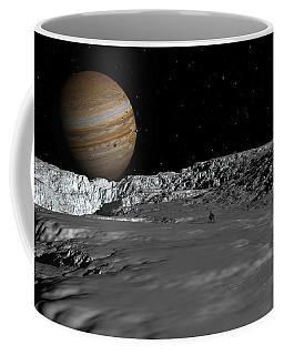 Drilling On Europa Coffee Mug