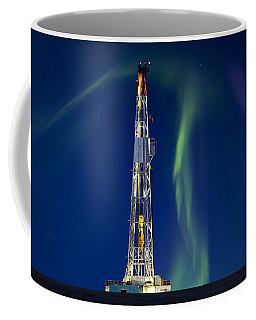 Drilling Rig Saskatchewan Coffee Mug