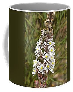 Coffee Mug featuring the painting Drimia Maritima by Tracey Harrington-Simpson