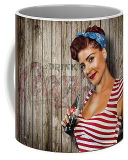 Drink Coca-cola Coffee Mug by Brad Allen Fine Art