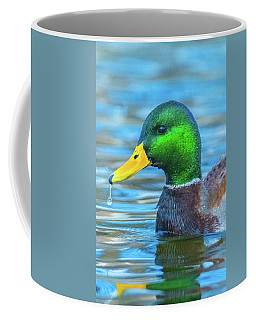 Dripping Duck Coffee Mug by Jeff at JSJ Photography
