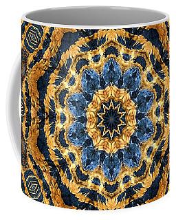 Dripping Gold Kaleidoscope Coffee Mug