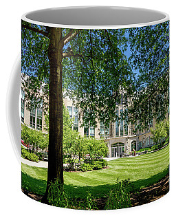 Coffee Mug featuring the photograph Driscoll Hall by William Norton