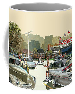 Drive In Days Coffee Mug by Michael Swanson