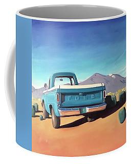 Drive Through The Sagebrush Coffee Mug