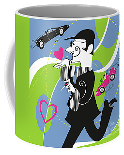 Driven To Love Coffee Mug