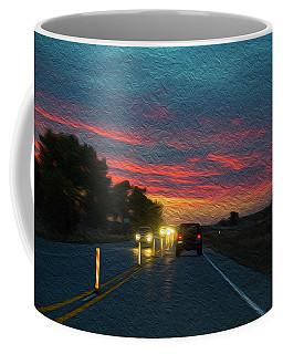 Driving Dusk Coffee Mug