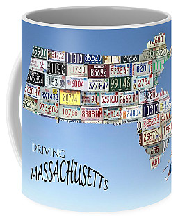 Driving Massachusetts Coffee Mug