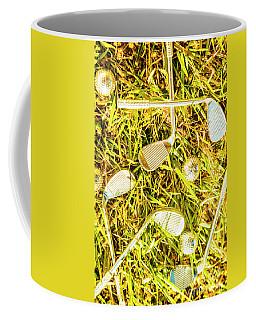 Driving On The Green Coffee Mug