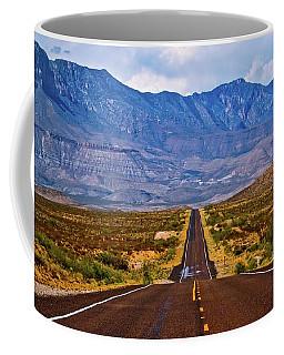 Driving To The Blue Coffee Mug