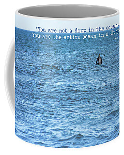Drop In The Ocean Surfer  Coffee Mug by Terry DeLuco