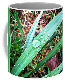 Coffee Mug featuring the photograph Droplets by Robert Knight