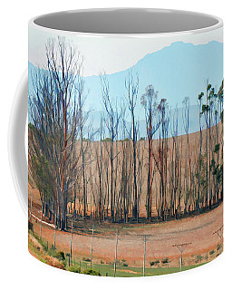 Drought-stricken South African Farmlands - 3 Of 3 Coffee Mug