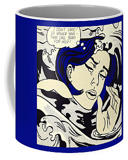 Drowning Girl - Aka Secret Hearts, I Don't Care Or I'd Rather Sink Coffee Mug