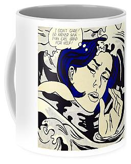 Drowning Girl - Aka Secret Hearts, I Don't Care Or I'd Rather Sink Coffee Mug