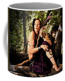 Druid In The Wood Coffee Mug