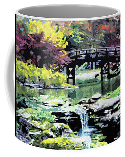 Drum Bridge Missouri Botanical Garden Coffee Mug