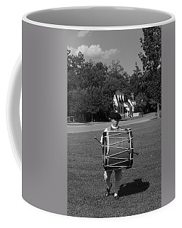 Coffee Mug featuring the photograph Drummer Boy by Eric Liller