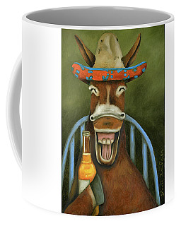 Coffee Mug featuring the painting Drunken Dumb Ass by Leah Saulnier The Painting Maniac