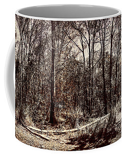 Coffee Mug featuring the photograph Dry Autumn Landscape Of A Vintage Woodland by Jorgo Photography - Wall Art Gallery