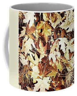 Dry Brown Leaves Coffee Mug