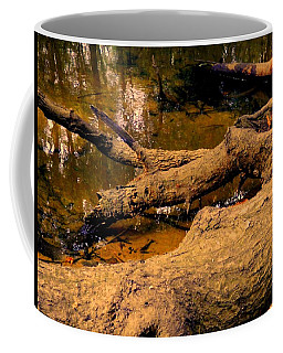 Coffee Mug featuring the photograph Dry Creek Shot  by Belinda Lee