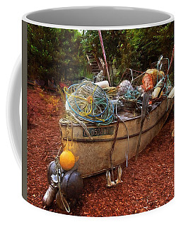 Coffee Mug featuring the photograph Dry Dock Art by Thom Zehrfeld