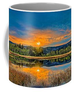 Dry Lagoon Spring Morning Coffee Mug