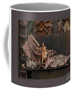 Dry Leaves And Old Steel-i Coffee Mug by Patricia Overmoyer