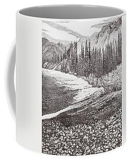 Dry Riverbed Coffee Mug