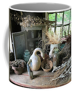Drying Herbs And Flowers Coffee Mug