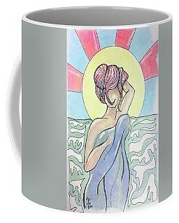 Drying Off From A Swim Coffee Mug by Loretta Nash