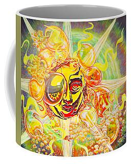 2015 Cbs Sunday Morning Sun Art-solar Flares Coffee Mug
