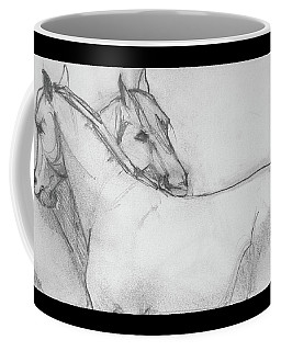Dual Massage Sketch Coffee Mug